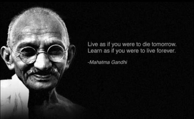 wijze spreuken ghandi Negen geweldige quotes van beroemdheden | Loud Noises wijze spreuken ghandi